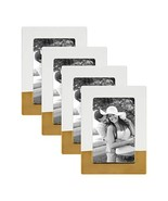 DesignOvation Kate and Laurel Clay Set of 4 Modern Glam Ceramic Picture ... - $67.36