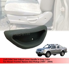 (LH) Gray Seat Adjust Handle For Nissan Frontier Navara D22 1997 - 2004 - $9.79
