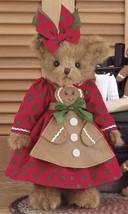 "Bearington Bears ""Ginger Cookiebaker"" 14"" Plush Bear- #173197 - NWT- 2013 - $44.99"