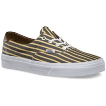 VANS Era 59 (Stripes) Yellow/True White Skate Shoes WOMEN'S 5.5 - $35.14