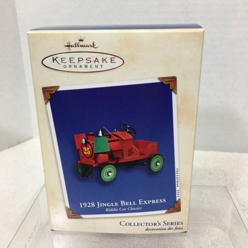Primary image for 2002 Kiddie Car Classics #9 Hallmark Christmas Tree Ornament MIB Price Tag H2