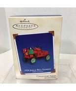 2002 Kiddie Car Classics #9 Hallmark Christmas Tree Ornament MIB Price T... - $14.36