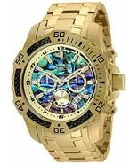 Invicta Men's Analog Quartz Gold Color Stainless Steel Strap Wrist 25094... - $197.01