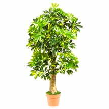 4' Scheflera Silk Tree (Real Touch) - $80.45