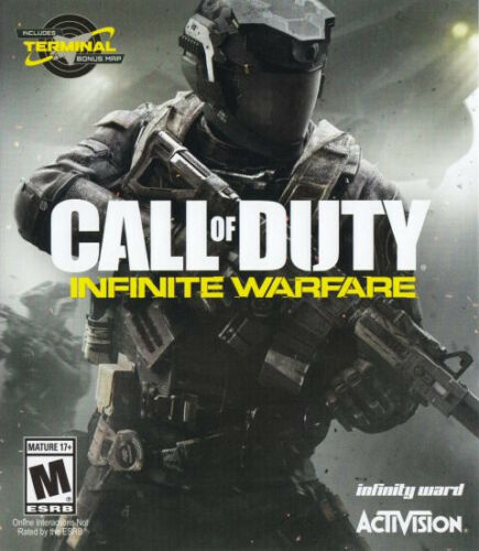 Call of Duty Infinite Warfare with Terminal Bonus Map for XBOX ONE & SERIES X