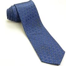 Navy Blue Paisley Silk Tie | Neiman Marcus Necktie - $74.25
