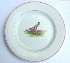 """Vintage  1981 Fitz and Floyd Basse-Cour Salad Plate Rooster 7.5"""" - $14.00"""