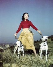 Ann Blyth Stunning and Rare Shoot 1952 with Dalmation Dogs Poster 16x20 ... - $69.99