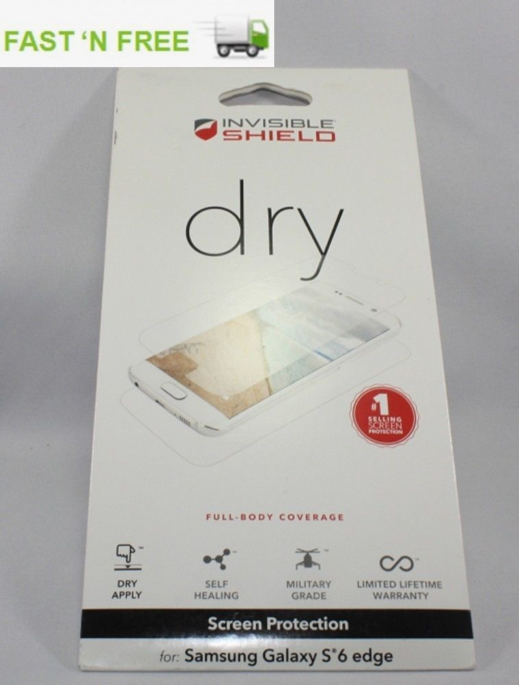 ZAGG InvisibleShield Dry Full Body Protector for Samsung Galaxy S6 Edge