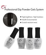14Ml Brush Saver Activator Gel Base&Top For Nail Dip Powder Natural Dry ... - $10.23+