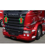 Scania P/G/R R 2009-2016 Series Chrome Grill Air Flow Trim Stainless Ste... - $33.74