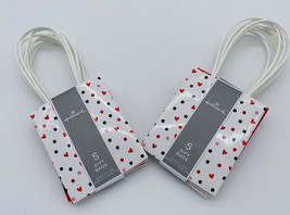 Valentine Gift Bags - Lot Of 2 - 10 Bags - Small - New - E - $9.89