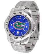 Florida Gators Men Steel Sport AnoChrome Watch - $81.68
