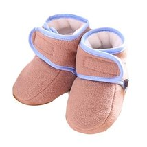 Warm Winter Baby Shoes Soft Sole Toddler Shoes Rubber Sole Infant Shoes