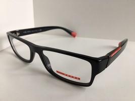 New PRADA Sport VPS 03C 1AB-1O1 54mm Black Men's Eyeglasses Frame Italy ... - $152.99