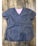 Scrub Top XL Nurse Doctor Dental Medical - $7.43