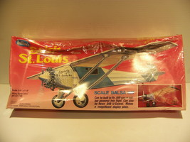 Guillows Spirit Of St Louis Authentic Scale Balsa Flying Model Kit Brand New - $44.99