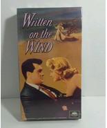 VHS Written on the Wind Robert Stack Lauren Bacall Robert Keith Grant Wi... - $4.89