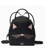 Kate Spade cat's meow binx Leather Crossbody Backpack Convertible NWT $298 - $293.04