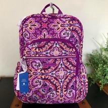 Vera Bradley Campus Backpack Dream Tapestry Laptop NWT - $69.95