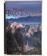 LOTR THE TWO TOWERS by J.R.R. Tolkien (1994) Houghton Mifflin SC - $9.89