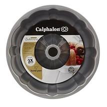 10 inch Cake Pan Fluted Calphalon Nonstick Bakeware Heavy Gauge Steel Co... - $23.40