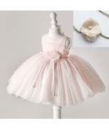 Newborn Dress for Spring and Summer Peach Color Photography Wedding Outfit - $25.95