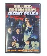 Bulldog Drummond's Secret Police (DVD 2003) B&W Brand New Factory Sealed - $7.83