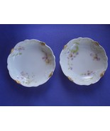 Antique Theodore Haviland Limoges France Butter Pats c 1900 - $29.99