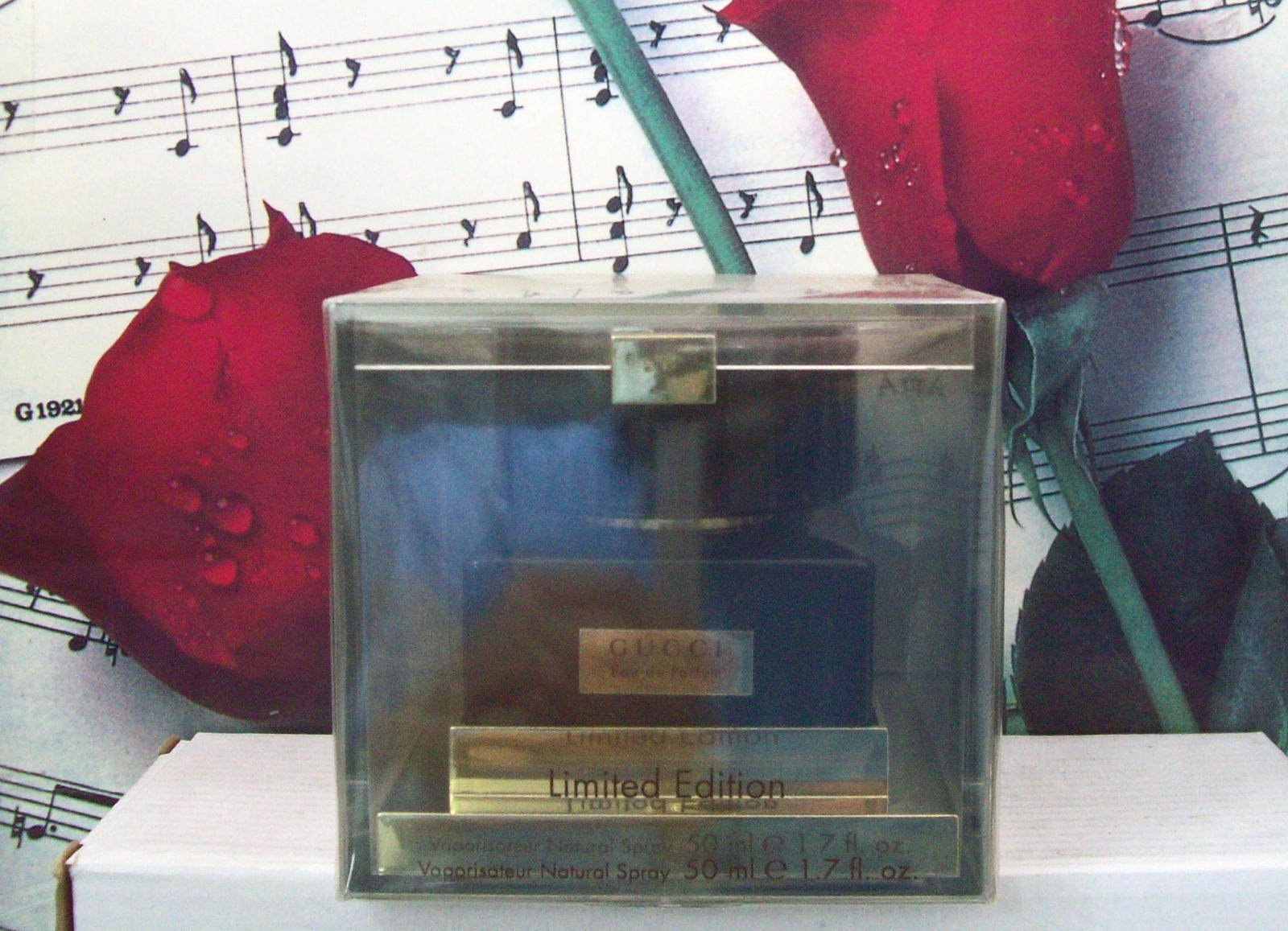 Primary image for Gucci EDP Spray For Women Limited Edition 1.7 FL. OZ. Vintage.