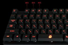 Cosy KB1331G Korean English Backlight Gaming Keyboard USB Wired Membrane for PC image 6