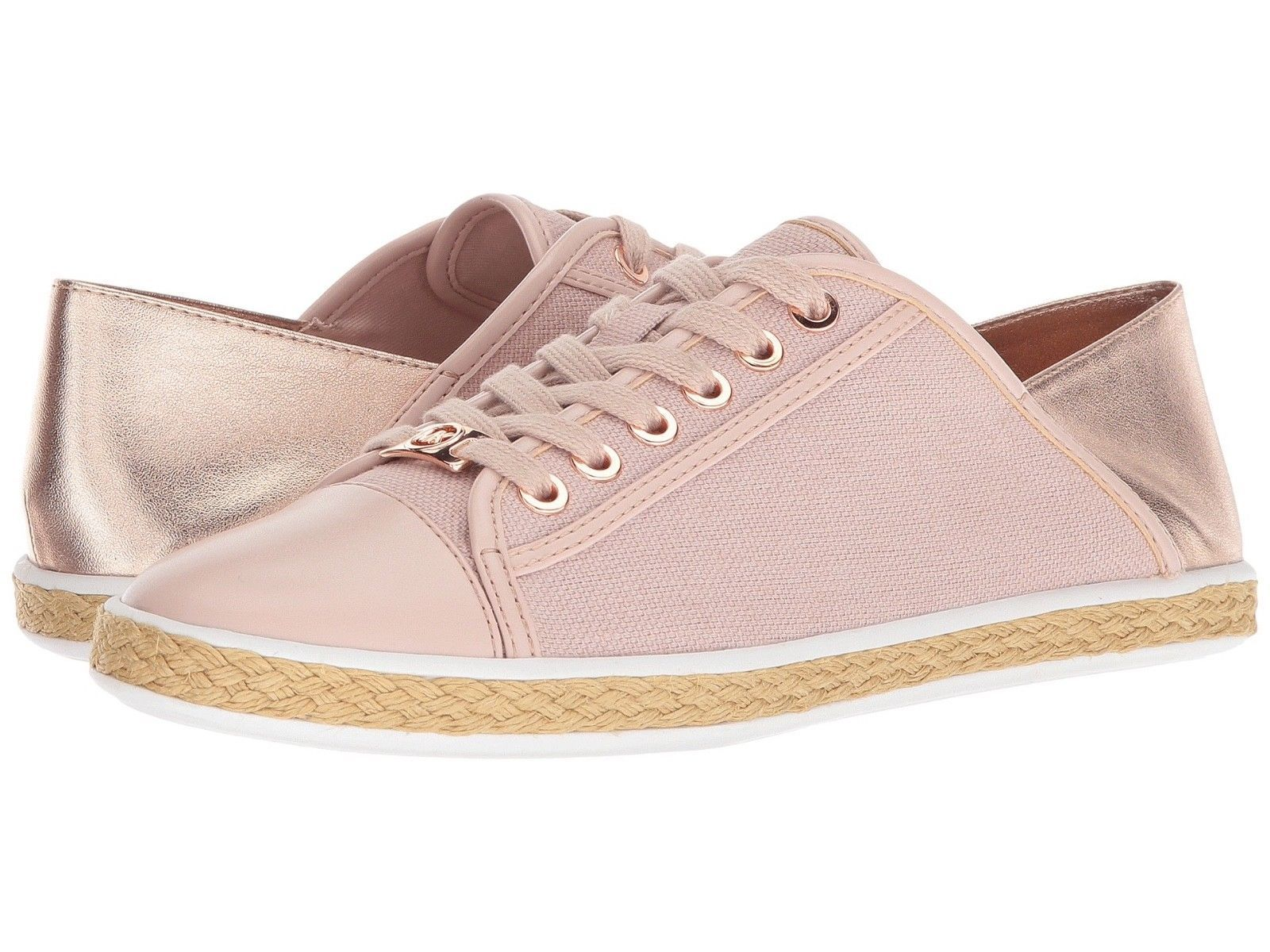 Michael Kors MK Women's Premium Kristy Slide Fashion Sneakers Shoes Soft Pink