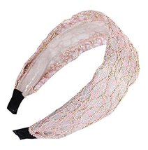 Elegant Sweet Wide - edge Hair Hoop Headband Hair Hoop Lace Hair Ornaments