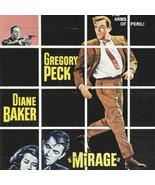 "GREGORY PECK ""MIRAGE"" Genuine 1965 Vintage MINT Movie Poster Universal 2... - $71.10"