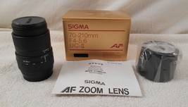 Sigma 70-210MM F4-5.6 UC-II Af For M-AF ( New In Box ) - $83.29
