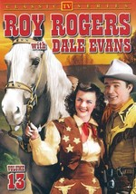 ROY ROGERS WITH DALE EVANS - VOL. 13 NEW DVD - $22.70