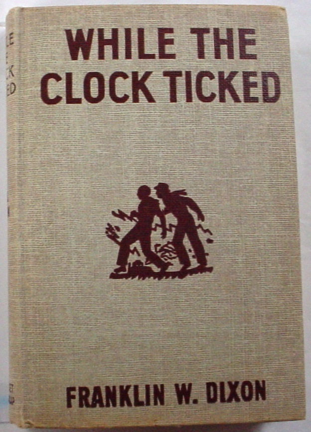 Hardy Boys While the Clock Ticked 1953A-33 no.11 hcdj Franklin W. Dixon