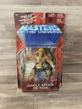 2002 Mattel Masters of the Universe MOTU Jungle Attack He-Man Action Figure - $24.19
