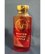 Bath and Body Works New Winter Candy Apple Shower Gel 10 oz - $9.95