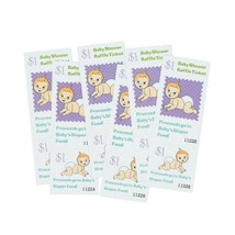 Baby Shower Games Baby Baby Shower Raffle Tickets By Fun Express - £3.79 GBP