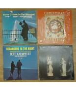 Record Album Qty 4 Bach Bert Kaempfert Christmas - $19.29