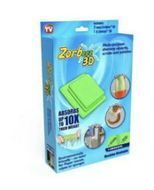 Zorbeez 3D Multi Purpose Shammy Cloths - FREE SHIPPING - $14.15