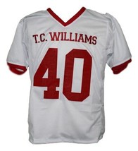 Petey Jones T.C.Williams The Titans Movie New Football Jersey White Any Size image 4