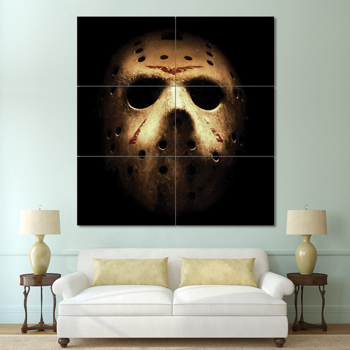 Primary image for Wall Poster Art Giant Picture Print Friday The 13th Jason Huge 0592PB