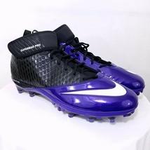 Nike Men's Lunar Super Bad Pro D Pf Football Cleats Size 14.5 New Free Socks - $14.87