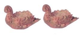 DOLLHOUSE MINIATURE 1 PC ANCIENT GRAY SWAN PLANTER #WA4010GA - $6.73
