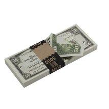 PROP MOVIE MONEY - Series 1920s Vintage $50 Full Print Prop Money Stack - $14.00+
