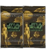 Star Wars 2 CCG Jabba's Palace 9 Card NEW UNOPENED Expansion Packs 1998 ... - $7.84