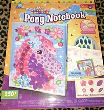 My First Sticky Mosiac Pony Notebook 250 Pieces Story Included - $15.00