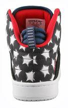 Supra Stevie Williams S1W Badge Shoes Stars & Stripes Black Navy White Sneakers image 3